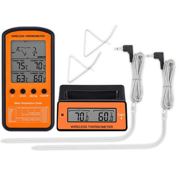 Wireless Remote BBQ Temp Probe