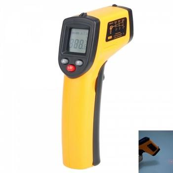 Yellow & Black Infrared Digital Temperature Gun