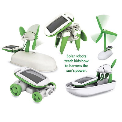 6-in-1 Solar-Powered Educational Robotic Kit With 6 Models