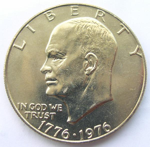 1776 1976 Eisenhower Dollar Type 1 Property Room