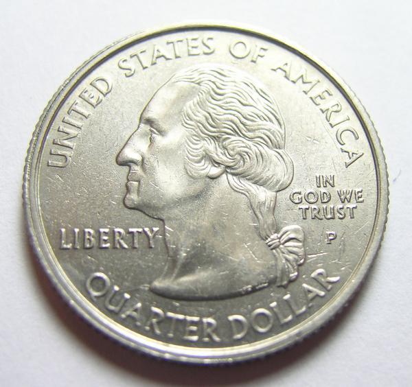 Mint Error 2000-P South Carolina State Quarter, Thick