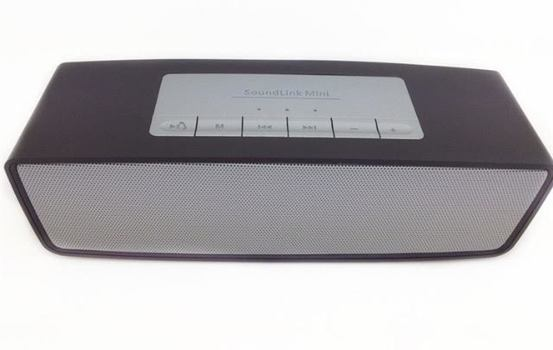 Sound Portable Link Mini Bluetooth Speaker Wireless Bluetooth Stereo Portable Speaker Black