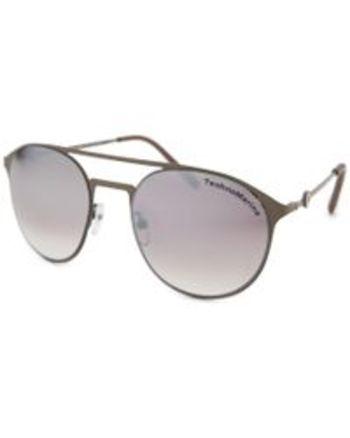 Technomarine Cruise Medusa Aviator Unisex TMEW004-03 Brown Sunglasses Retail $195