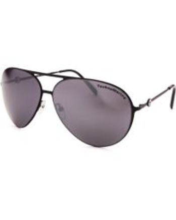 TechnoMarine Cruise Aviator Black TMEW005-01  Sunglasses Retail $195