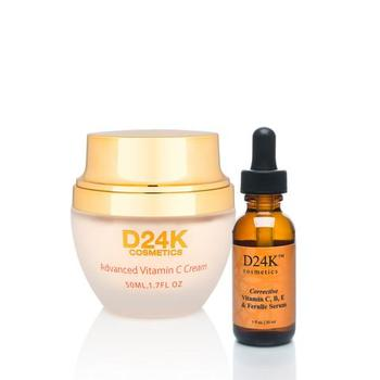D24K Vitamin C Cream & Corrective Vitamin C,B,E & Ferulic Serum D24K $890.00