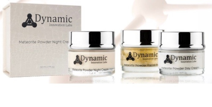 Dynamic Sonic METEORITE POWDER DAY AND NIGHT CREAM PLUS FACIAL PEEL (YOUR DAYLY ROUTIN) RETAIL VALUE $699