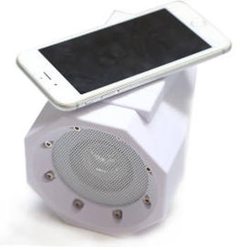 Thumbs Up Touch Speaker Boombox White