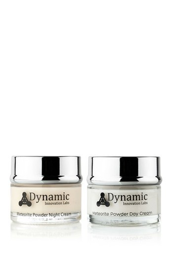 Dynamic Sonic METEORITE POWDER DAY AND NIGHT CREAM (YOUR DAYLY ROUTIN) RETAIL VALUE $499