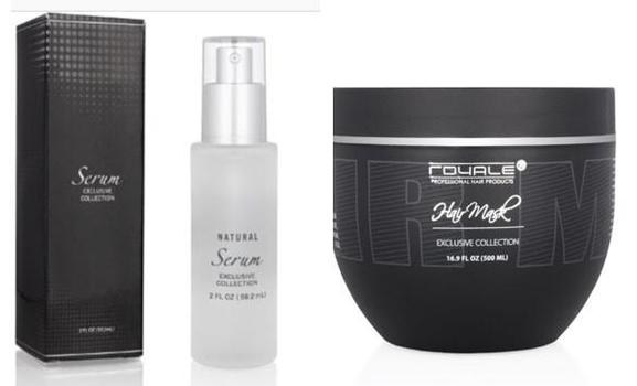 Royale 300ml Deep Conditioning Hair Mask Plus Royale Hair Serum Exclusive Collection Retail $120
