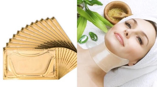 D'or 24K 24k Gold Neck & Decollate Lifting Treatment Mask retail $4750