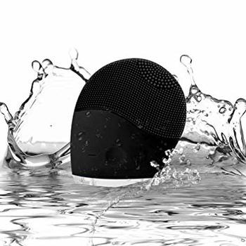 Beyond the Soap Sonic Face Cleanser and Massager Brush For Him, Silicone Facial Cleaning Brush Anti-Aging, and Reducing Acne black  Retail $200