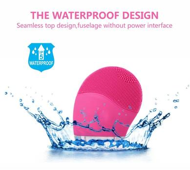 Beyond the Soap Sonic Face Cleanser and Massager Brush, Silicone Facial Cleaning Brush Anti-Aging, and Reducing Acne.(pink) Retail $200