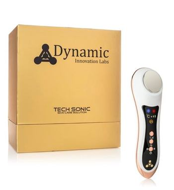 DYNAMIC INNOVATIONS - Next Generation Anti-Aging Lifting Sonic Anion Device - Rose Gold Retail $5000