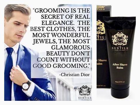 LE SUBTILE luxe for men After Shave Moisturizer Retail $99
