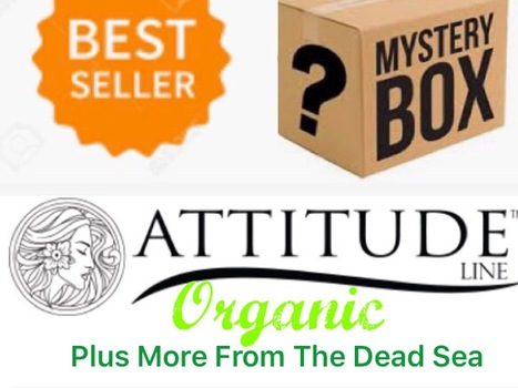 ATTITUDE DEAD SEA ORGANIC SKIN CARE BUEATY PRODUCTS PLUS MORE RETAIL VALUE  $120 TO $150