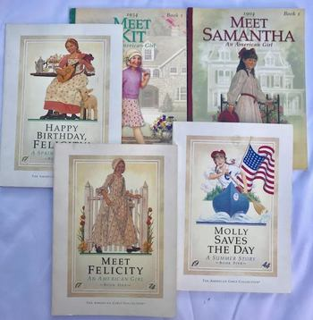 Auction Description   The American Girls Collection 5 Book Stories