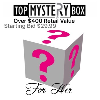 WOMENS MYSTERY LUXURY BEAUTY BOX , AUCTION START 85% TO 90% LESS THAN RETAIL VALUE RETAIL: OVER $400