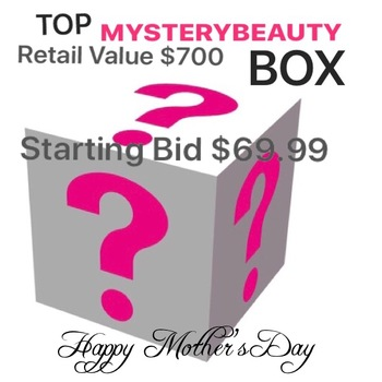 WOMENS MYSTERY LUXURY BEAUTY BOX , AUCTION START 85% TO 90% LESS THAN RETAIL VALUE RETAIL: OVER $700