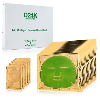 18-in-1 Collagen Renewal Face & Eye Mask Set (1 Year Supply) D24K Retail $1,499.00