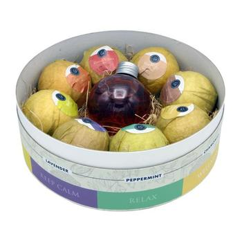 Bath Bomb with Shower Gel Set 9 PC Retail $80