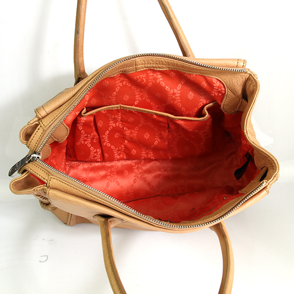 Italian Made Cettu Leather Doctor Satchel Handbag