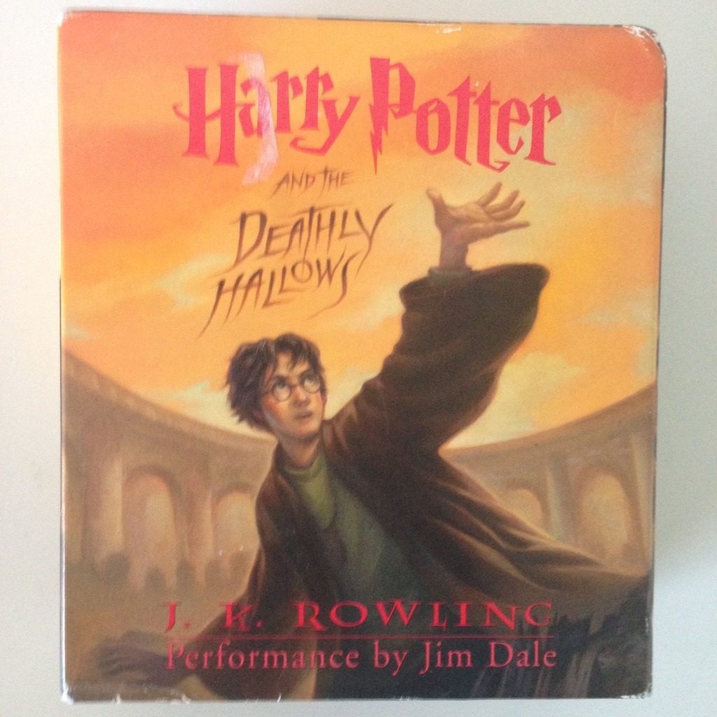 Harry Potter And The Deathly Hallows Audio Book On Cd Retail Value