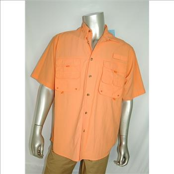 Rugged Earth Outers New Mens Fishing Shirt Upf40 Size Large
