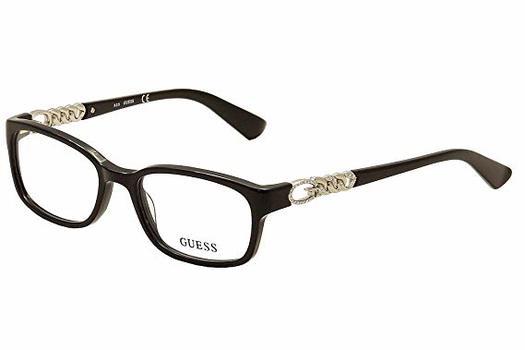 Guess GU 2558-F 005 Eyeglasses Frames 54mm - 34