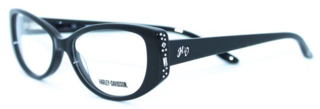 Harley Davidson HD 514 BLK Black Frames Eyeglasses 51mm - 176
