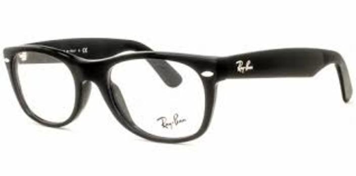 10dd2537b6 Ray Ban RB 5184 2000 Black Frames Eyeglasses 52mm - 116