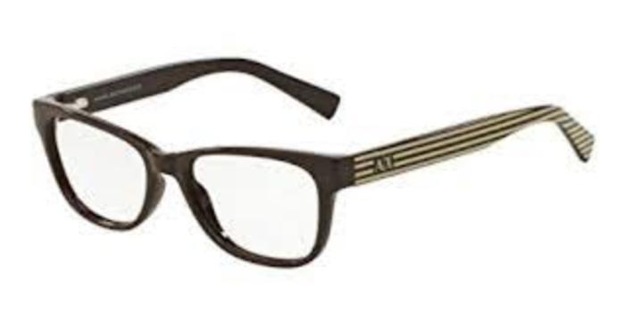 Armani Exchange AX 3020 8149 Eyeglasses Frames 52mm - 2