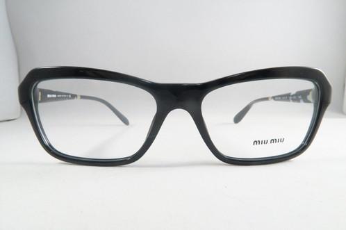 Miu Miu VMU 02N 1AB-1O1 Black Frames Eyeglasses 52mm - 88 | Property ...