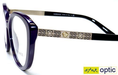 7139ce807514c Versace Mod. 3229 5192 Frames Eyeglasses 52mm - 131