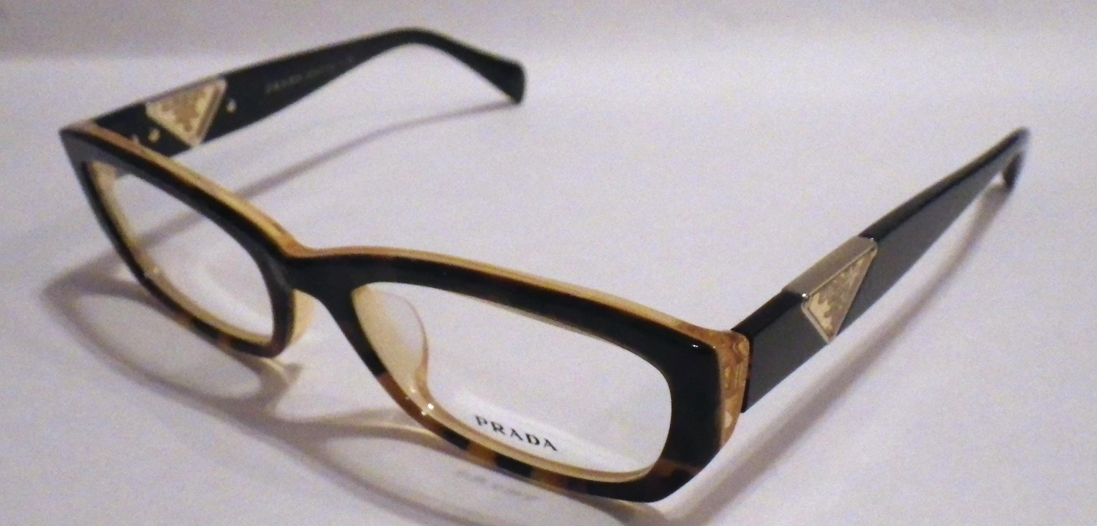 14664c999b4b ... sale new unisex prada vpr 100a glasses retail 259 641a5 ce7af