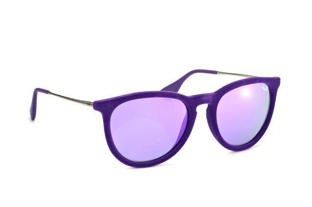 8874114481 Image 1 of 3. Ray Ban Sunglasses RB 4171 (Erika) 6080 4V Velvet Purple ...