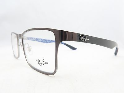 a3c7438a9f Ray Ban RB 8415 2862 Carbon Fiber Frames Eyeglasses 53mm - 137 ...