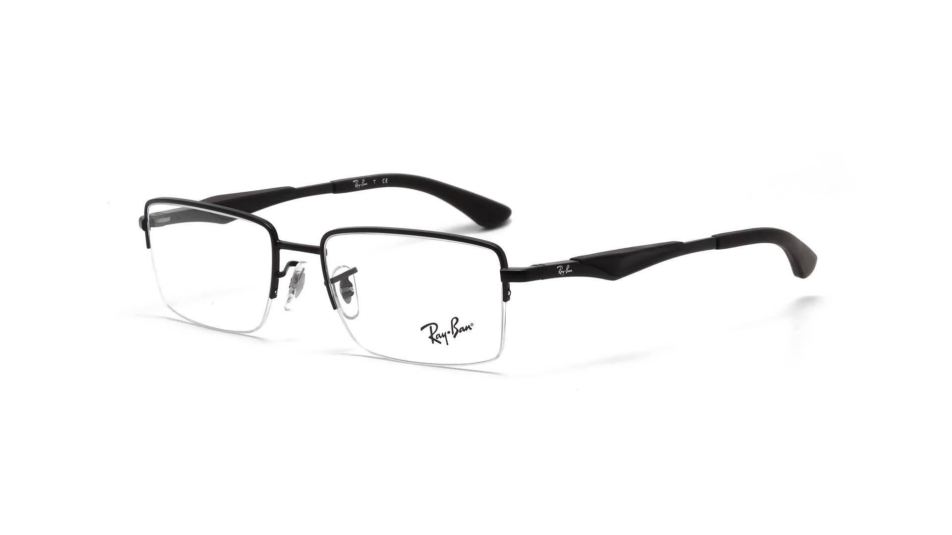 174bc0e955 Ray Ban RB 6285 2503 Black Eyeglasses RX 51mm - 158