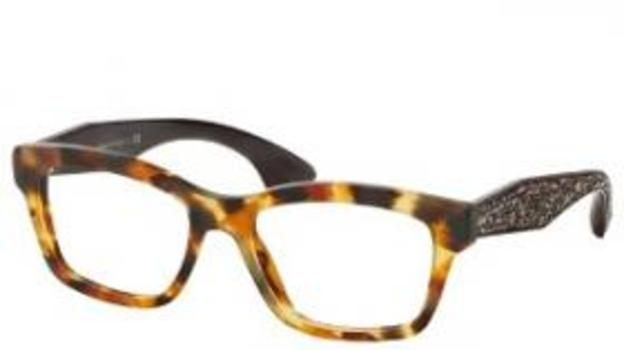 2348844ba6 Miu Miu VMU 01O UBR-1O1 Crystals Frames Eyeglasses 54mm - 29 ...