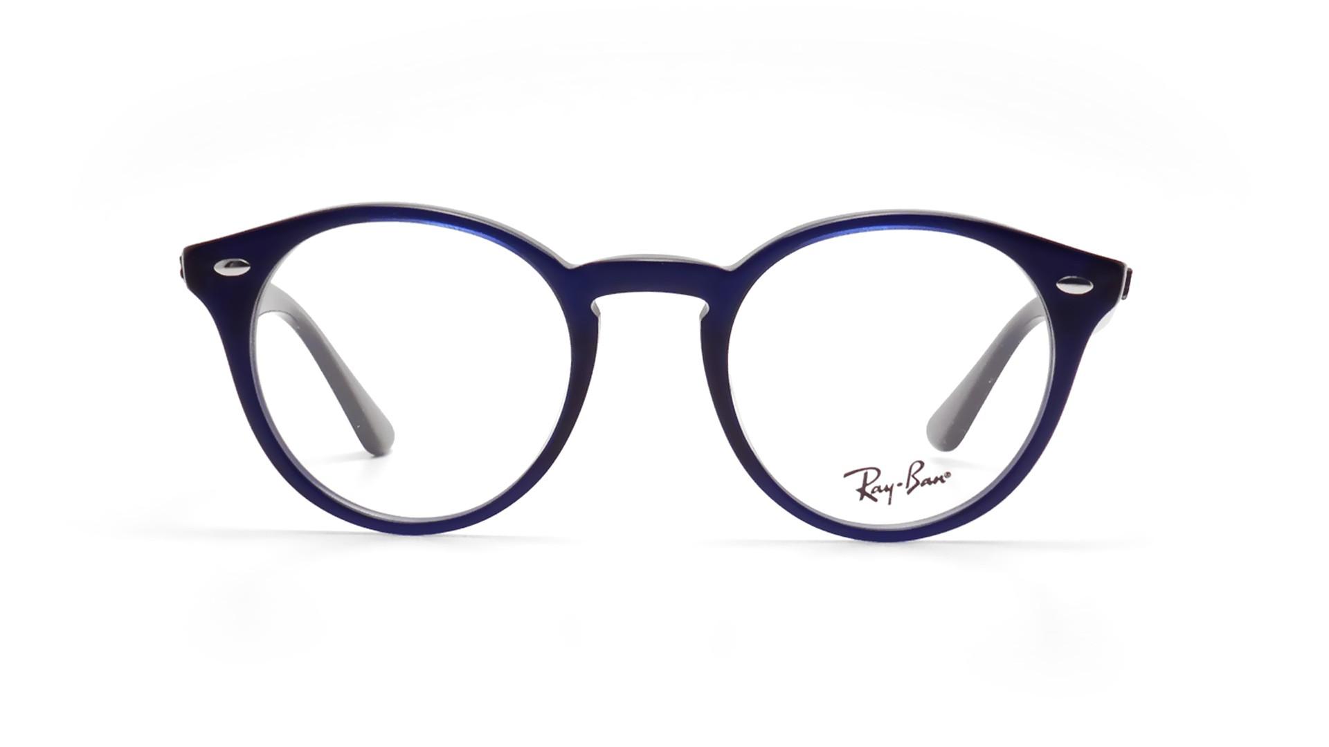 aa073b6cca Ray Ban RB 2180-V 2013 Blue Round Eyeglasses Frames 47mm - 3 ...