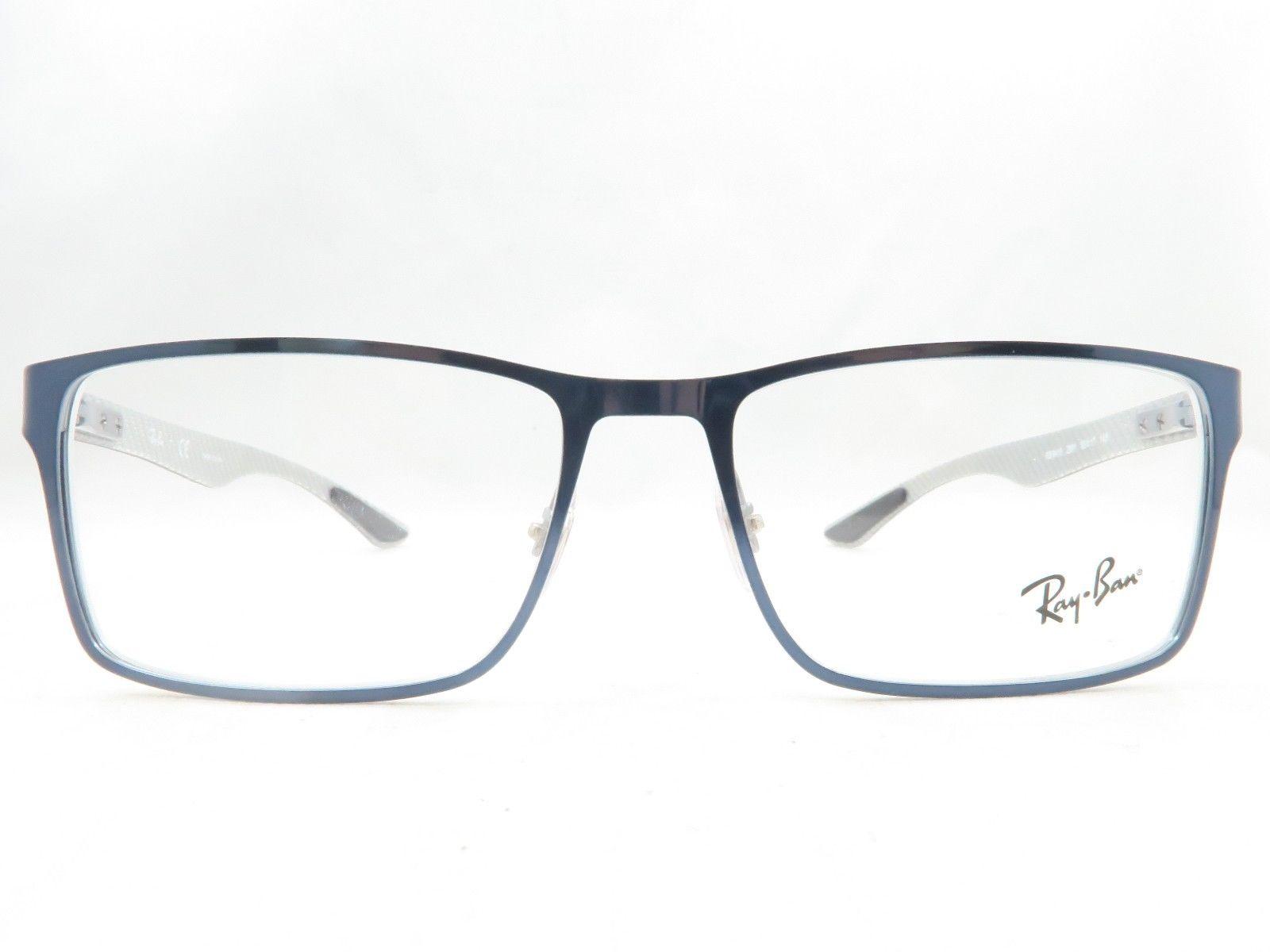 378a311da44 An image relevant to this listing An image relevant to this listing. Go  left Go right. Zoom. Ray Ban RB 8415 2881 Carbon Fiber Frames Eyeglasses  55mm - 57