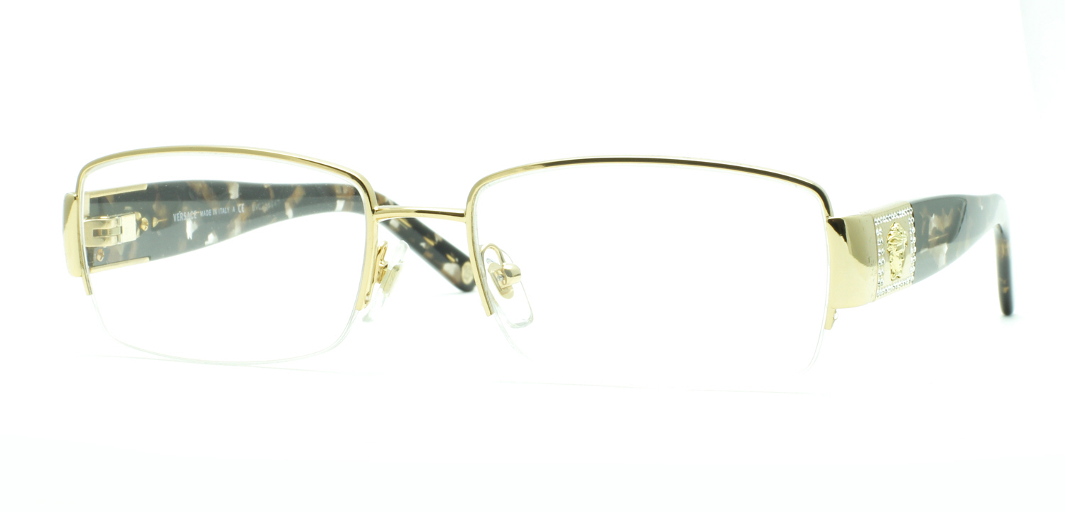 6314bc17f84 Image 1 of 3. New Unisex VERSACE (1175) Glasses - Retail  250