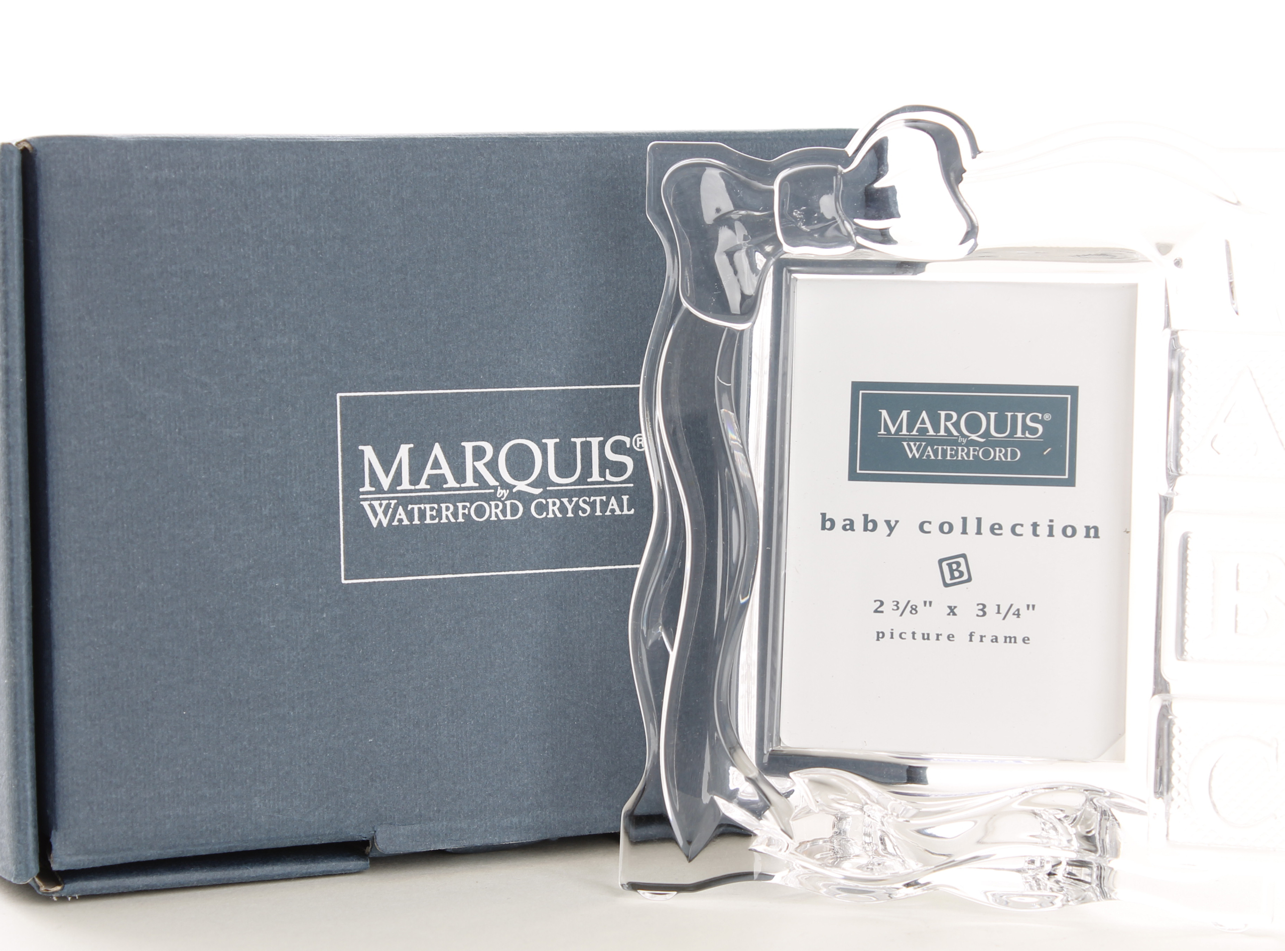 A Waterford Crystal Marquis Photograph Frame Current Sales