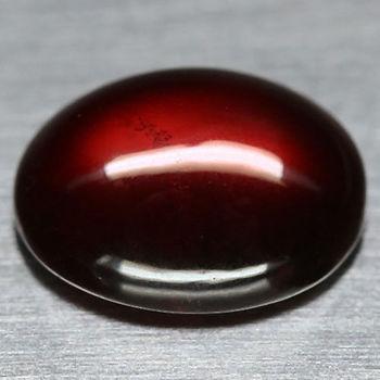 4.88 ct Natural Hessonite Garnet Oval Cabochon Cut Loose Gemstone