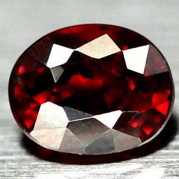 1.06 ct VS Natural Mozambique Garnet Oval Cut Loose Gemstone