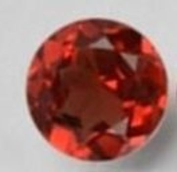 5mm VS Natural Mozambique Garnet Round Cut Loose Gemstone