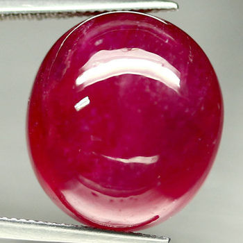 58.11 ct Natural Ruby Oval Cabochon Cut Loose Gemstone