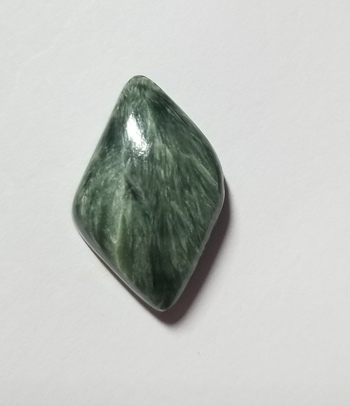6.89 ct Natural Seraphinite Loose Gemstone