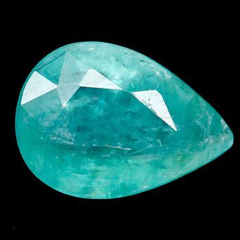Rare .42 ct Natural Grandidierite Pear Cut Loose Gemstone