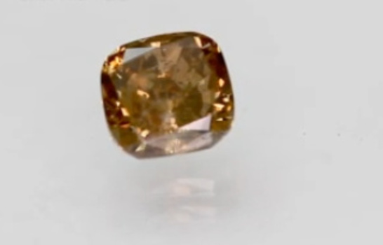 CERTIFIED .62 ct Natural Chocolate Diamond Radiant Cut Loose Gemstone