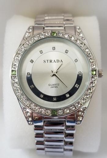 No Reserve Genuine Austrian Crystal Watch